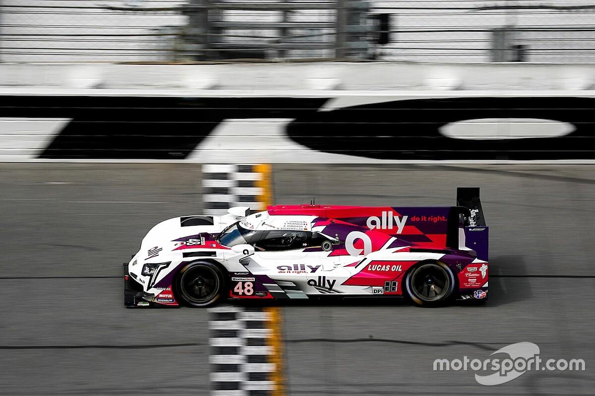 Pagenaud lidera primer test en Daytona y Montoya en séptimo