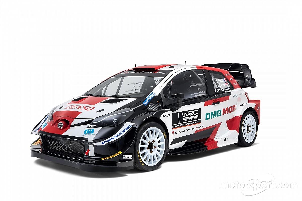 Nowe barwy Toyoty Yaris WRC