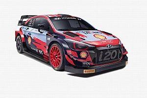 Hyundai, 2021 WRC renk düzenini tanıttı