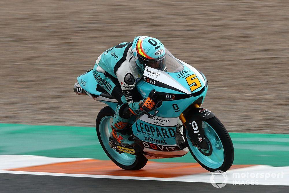 Moto3, Valencia, Libere 2: Masia su tutti, Arenas indietro