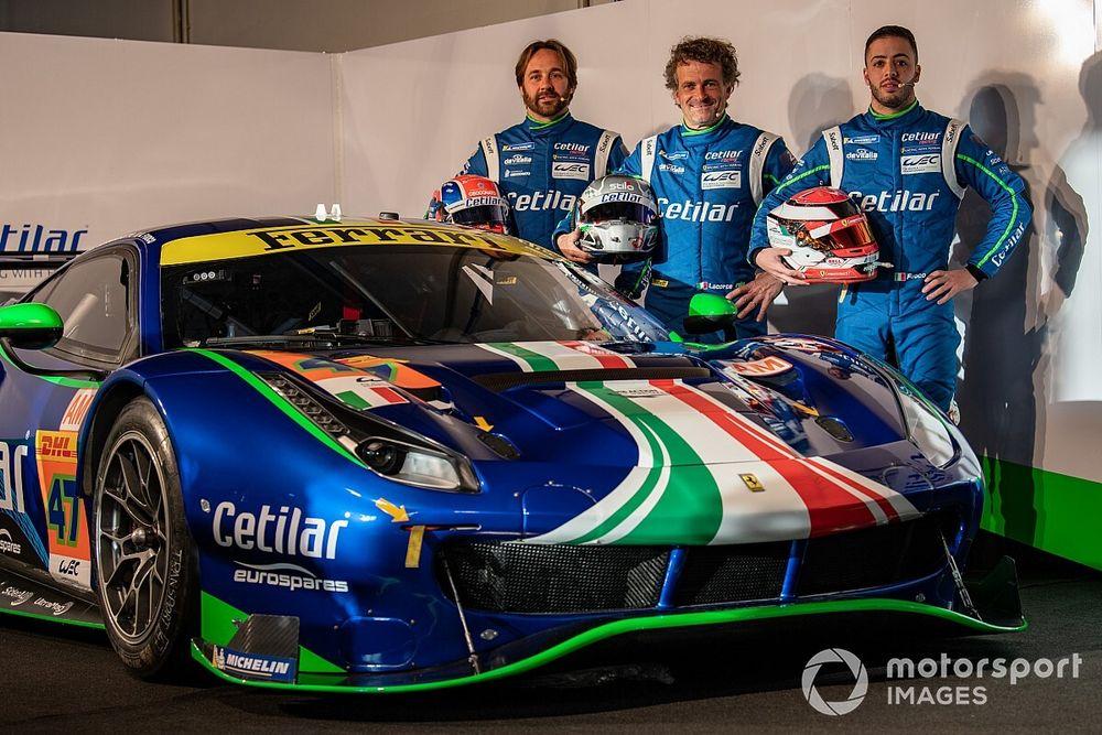 "WEC, grinta Cetilar: ""Con la Ferrari ce la giochiamo!"""
