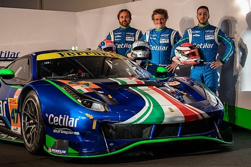 Fuoco gets WEC drive with Cetilar Ferrari squad