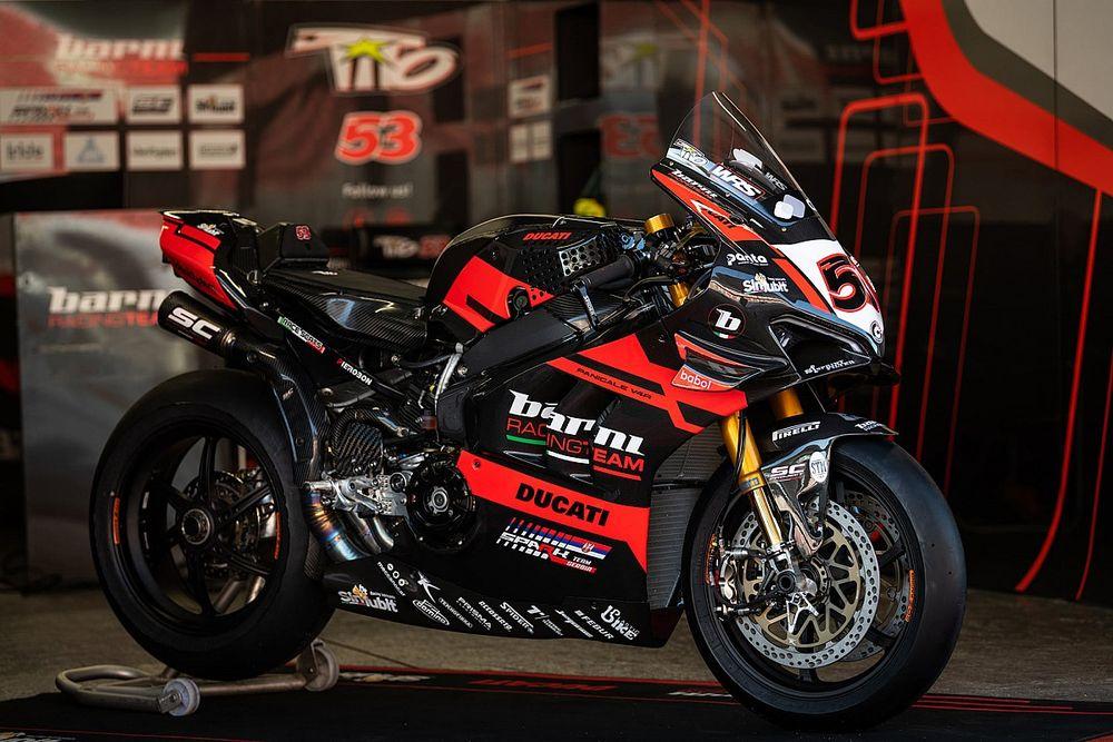 SBK, Barni mostra la nuova livrea: nel 2021 la Ducati sarà nera!