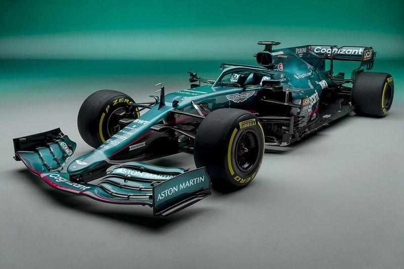 Rebranded Aston Martin F1 team launches 2021 car