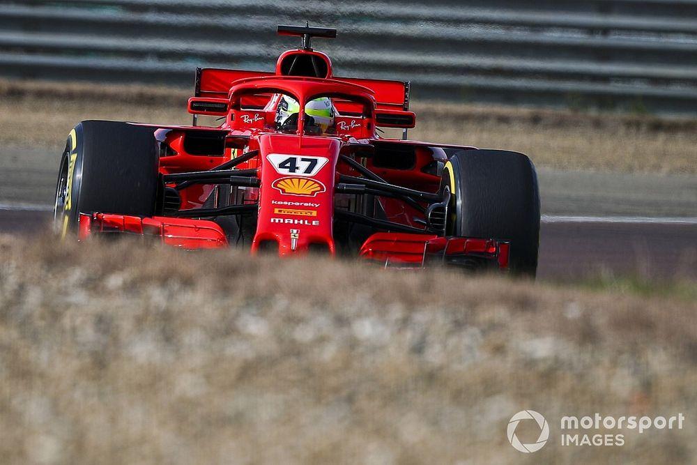 """Schumacher ferraris tesztnapja után: """"Az autó nagyban hasonlít a mostaniakra"""""""