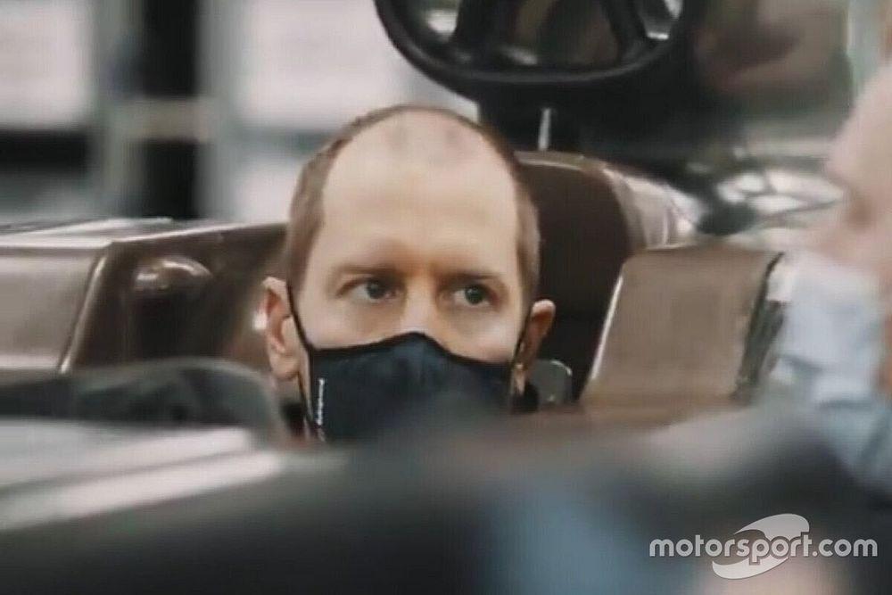 Aston Martin, Vettel'in kokpit içerisindeki ilk fotoğrafını yayınladı