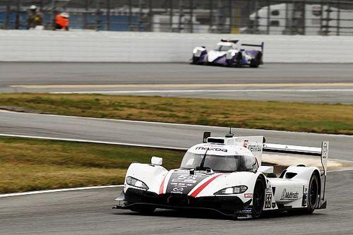 Mazda logra la pole para la carrera clasificatoria de Daytona