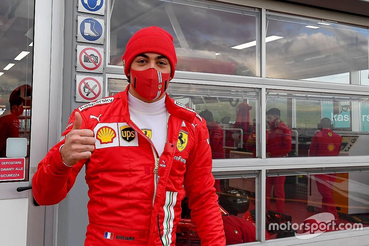 Алези попрощался с Ferrari