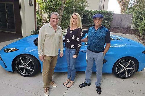 Sylvester Stallone compra un Corvette Convertible 2021