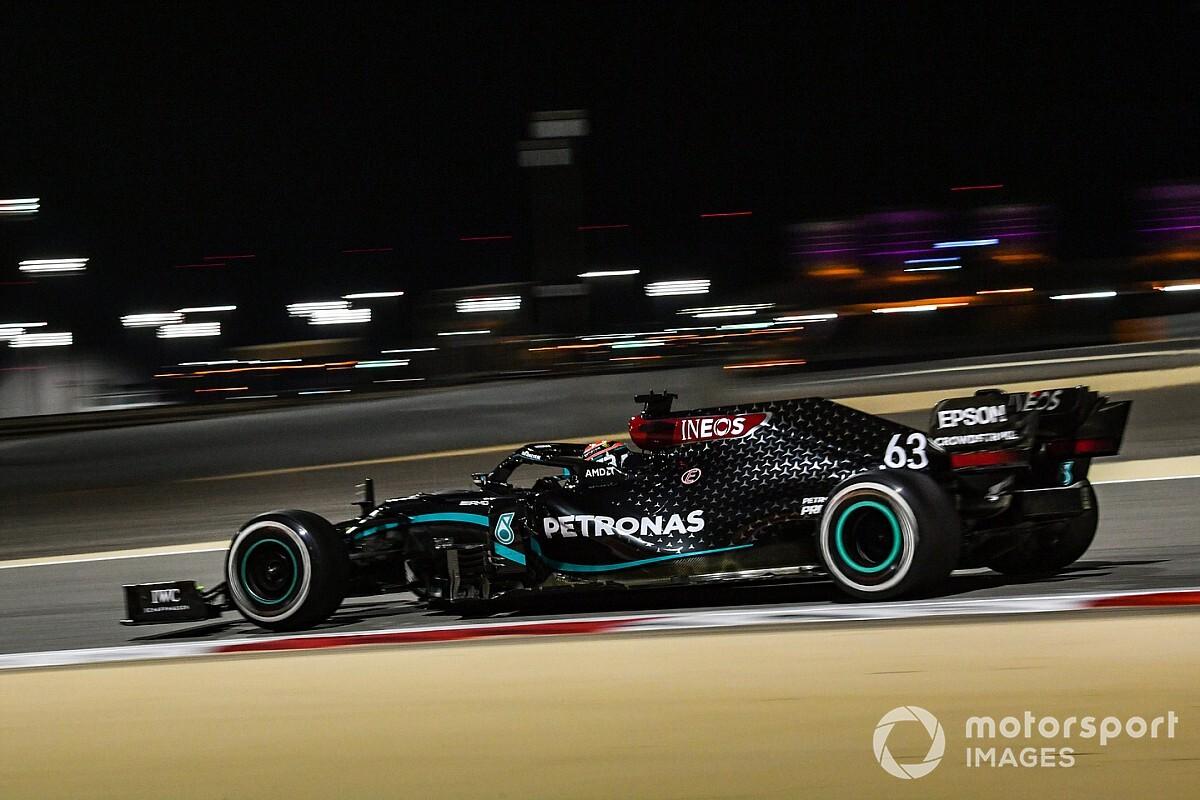 萨基尔大奖赛FP2:拉塞尔继续名列榜首,博塔斯最快圈被删除