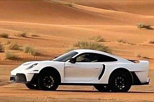 VIDEO: Gembella werkt aan Porsche 911 voor in de woestijn