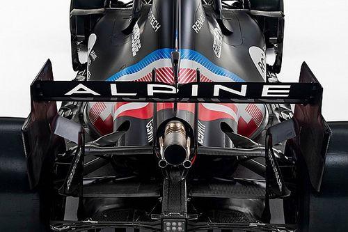 Alpine pone en marcha por primera vez su F1 2021