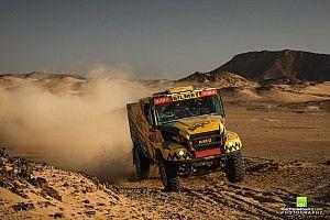 Dakar, Camion, Tappa 10: Macik replica con l'Iveco
