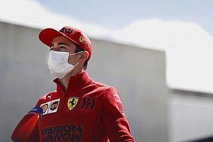 Új sisakfestéssel áll rajthoz Leclerc a Portugál Nagydíjon! (képek)