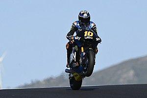 Moto2 Portimao FT2: Luca Marini vor Sam Lowes, Marcel Schrötter nur auf P23
