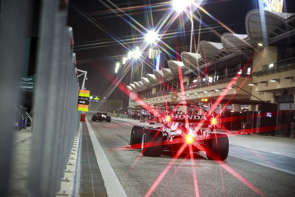 Las fotos de la segunda jornada de test de F1 en Bahrein