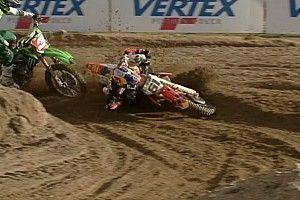 Prado da el susto en el Internazionali d'Italia de motocross