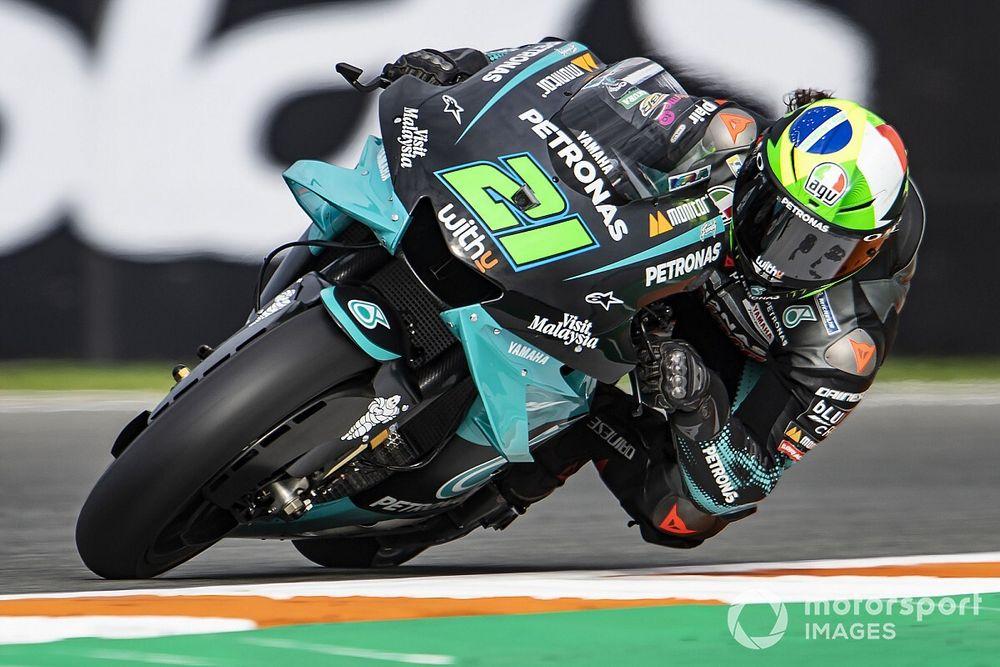 MotoGP, Valencia, Warm-Up: Morbidelli si conferma