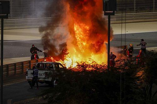 Kvjat először haragudott Grosjeanra, aztán meglátta a lángokat...