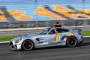 La F1 fait évoluer We Race As One et supprime l'arc-en-ciel