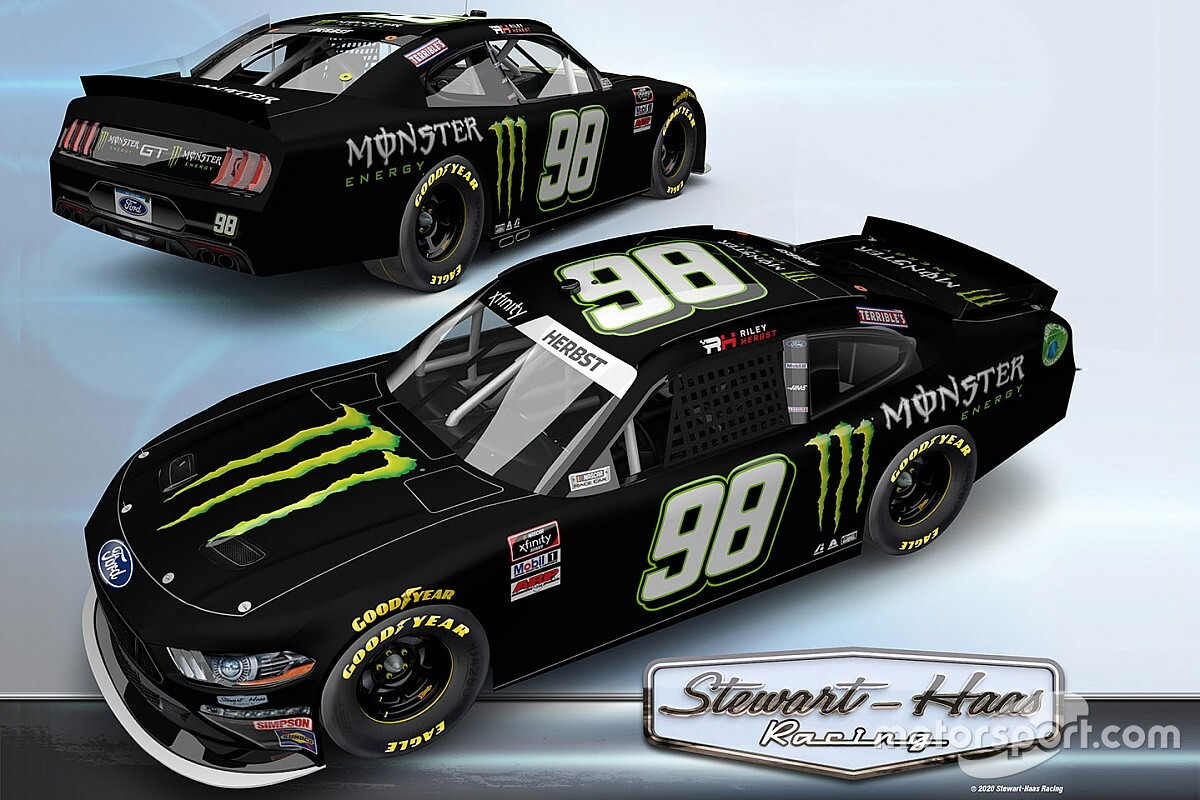 Riley Herbst joins Stewart-Haas Racing for 2021 Xfinity Series ride