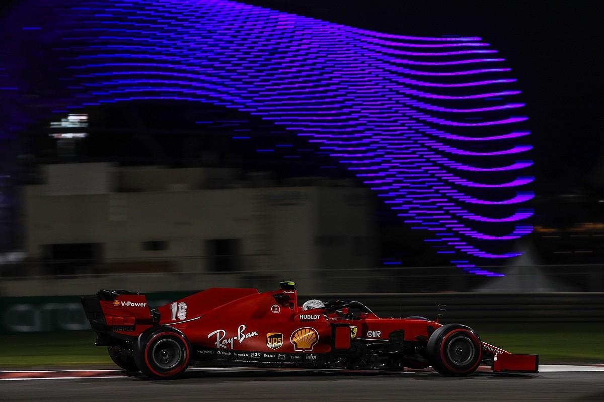 Leclerc stelt zichzelf teleur tijdens Q3 in Abu Dhabi