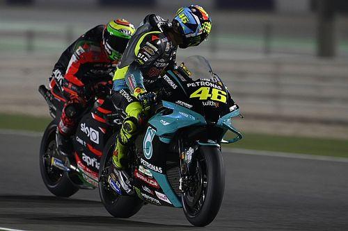 Rossi: la moto de este año es muy similar a la de 2020