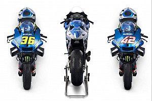 Suzuki unveils bike for MotoGP title defence