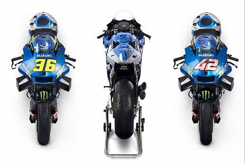 Suzuki unveils bike for MotoGP title defence
