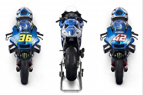 Fotogallery MotoGP: la Suzuki GSX-RR 2021 di Mir e Rins