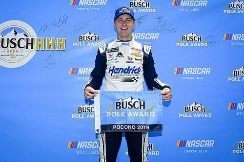 William Byron earns Pocono pole over Kyle Busch