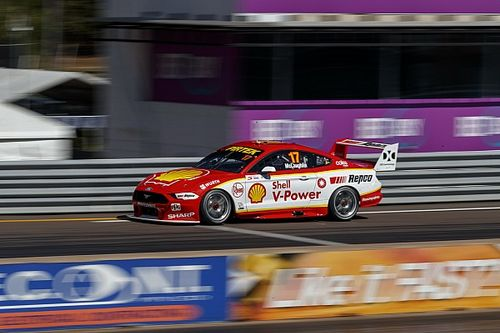 Darwin Supercars: Record lap gives McLaughlin provisional pole