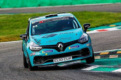 A Monza doppia pole di Felice Jelmini nelle qualifiche della Clio Cup Italia