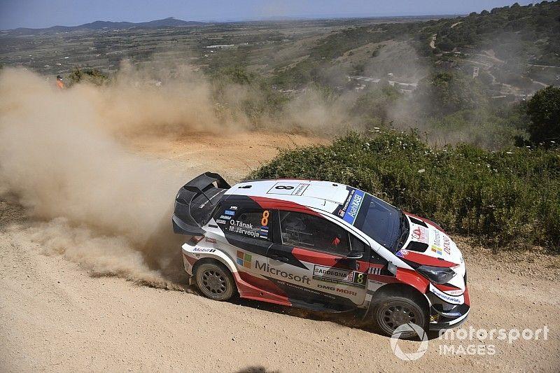 WRC, Rally Italia Sardegna, PS10: Tanak è una furia e sale subito 2°