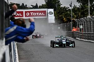 Pau GP winner Monger had bent steering after wall hit