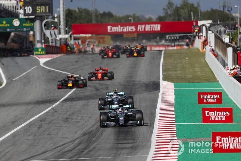Comment Hamilton et Bottas ont lutté pour le point du meilleur tour