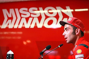 "Petrucci s'est senti ""remis en question"" avant même le premier GP"