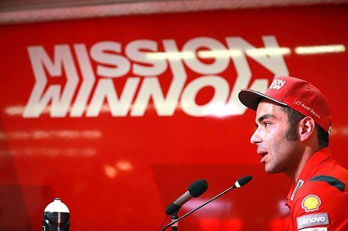 """Le podium? """"Il est temps"""", admet Petrucci"""