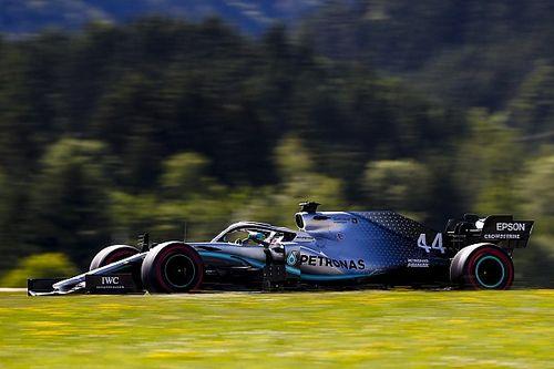 Hamilton: Ferrari plus rapide que d'habitude sur les longs relais