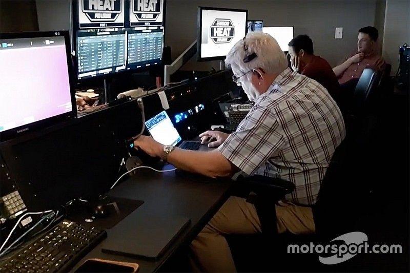 David Hoots returns to race control - to call eNASCAR race