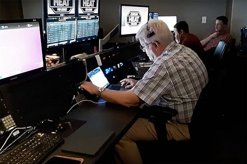 David Hoots returns to race control - to call eNASCAR race