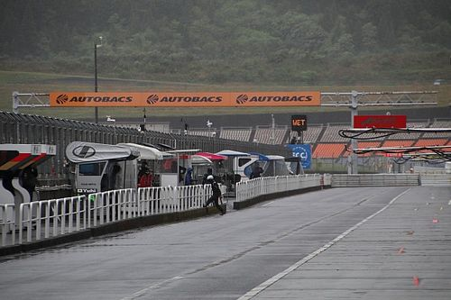 Autopolis Super Formula qualifying postponed due to rain