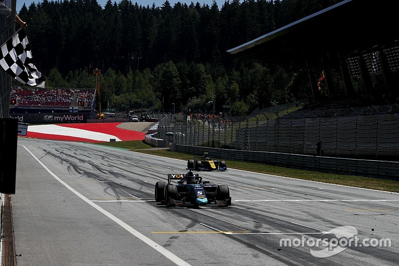 Red Bull Ring F2: Sette Camara takes first win since 2017
