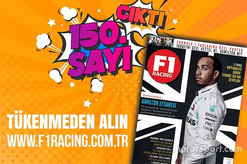 F1 Racing Temmuz sayısı çıktı