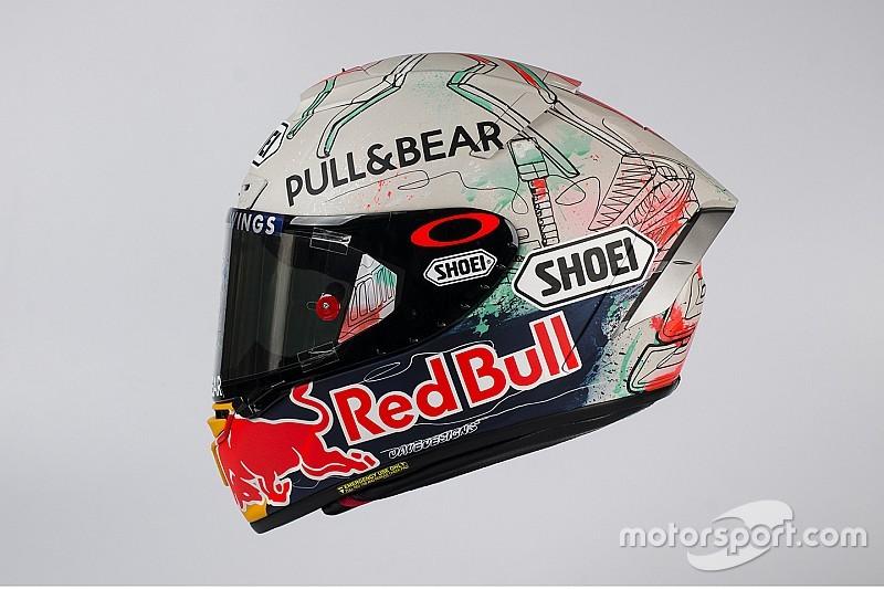 Fotogallery: ecco il casco speciale di Marc Marquez per Barcellona