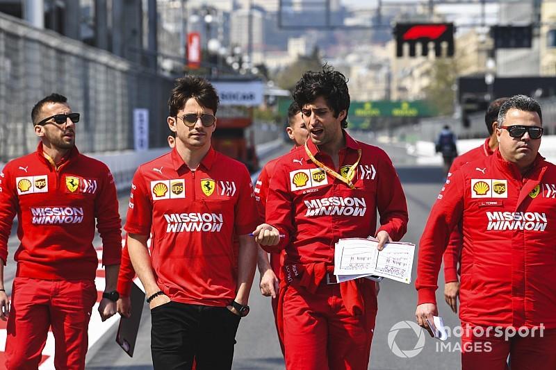 """Leclerc: """"Non ho l'ossesione della prima vittoria, ma Baku è una pista che mi piace"""""""