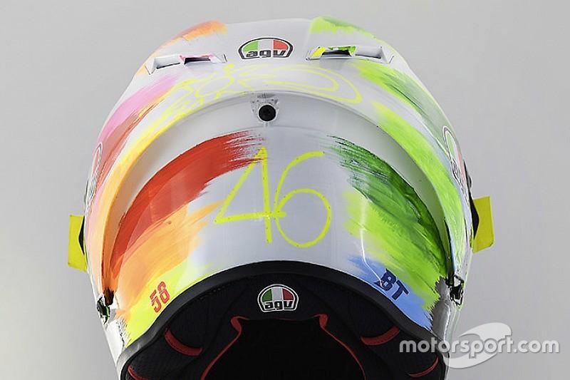 GALERIA: Veja capacete de Valentino Rossi para etapa de Mugello da MotoGP