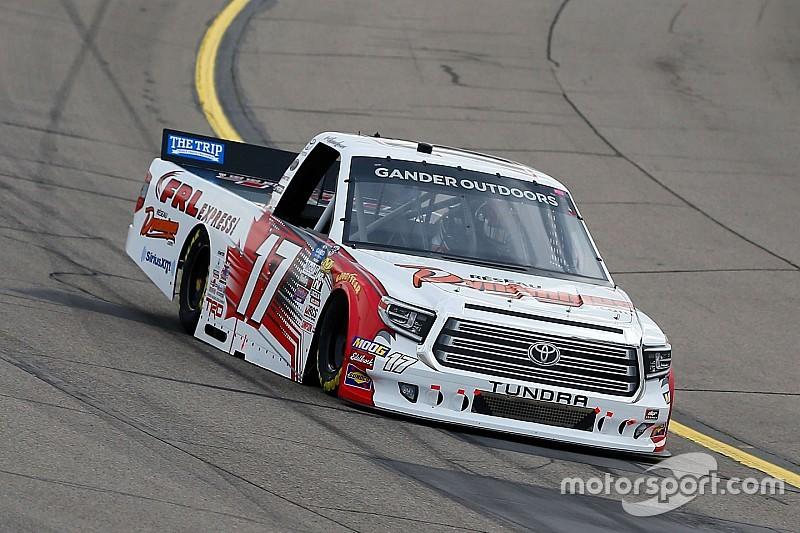 Raphael Lessard scores first top-10 finish in NASCAR trucks