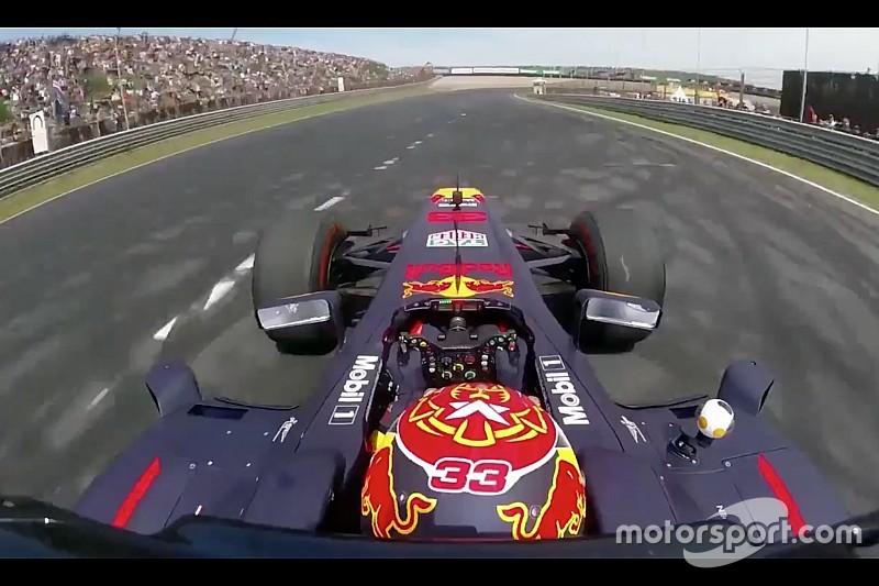 VÍDEO: dê uma volta a bordo da Red Bull de Verstappen na pista de Zandvoort, que receberá o GP da Holanda