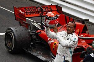 """Após hexa, Hamilton lembra de Lauda: """"Ele está aqui em espírito"""""""